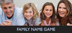 Family Name Game